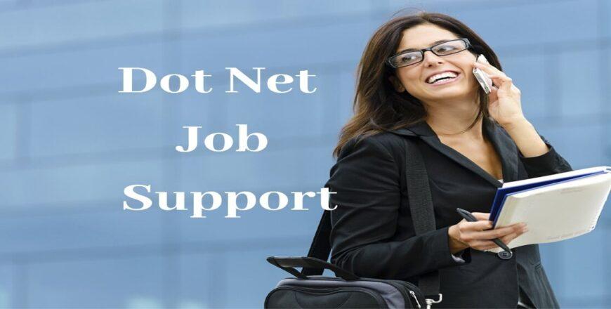 Dot Net Job Support