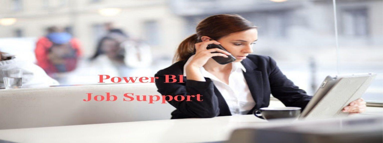 Power BI Job Support