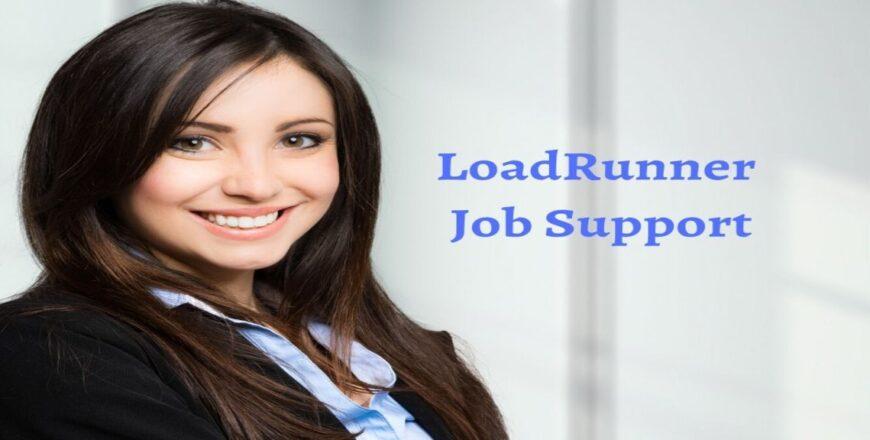 LoadRunner Job Support