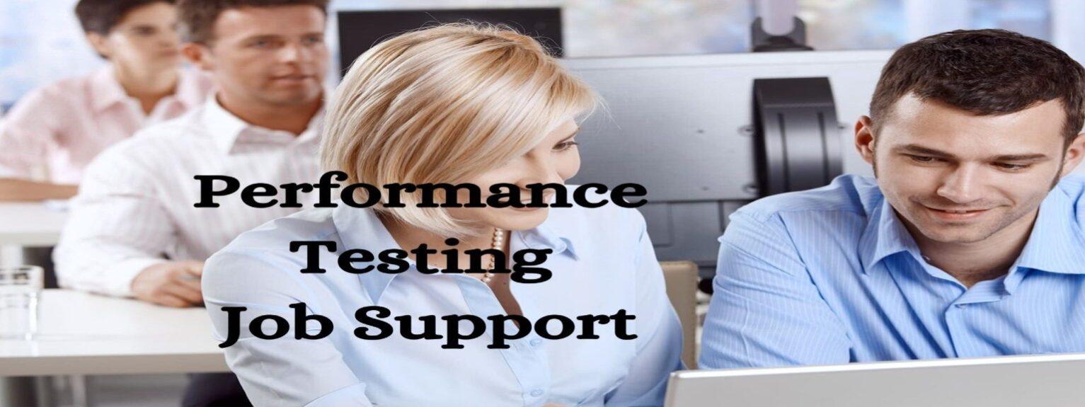 Performance Testing Job Support
