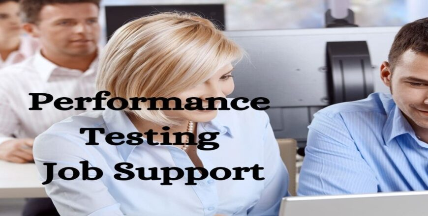 Performance Testing Job Support