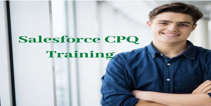 Salesforce CPQ Training