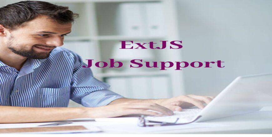 ExtJS Job Support