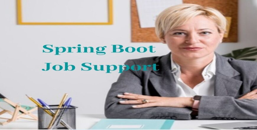 Spring Boot Job Support