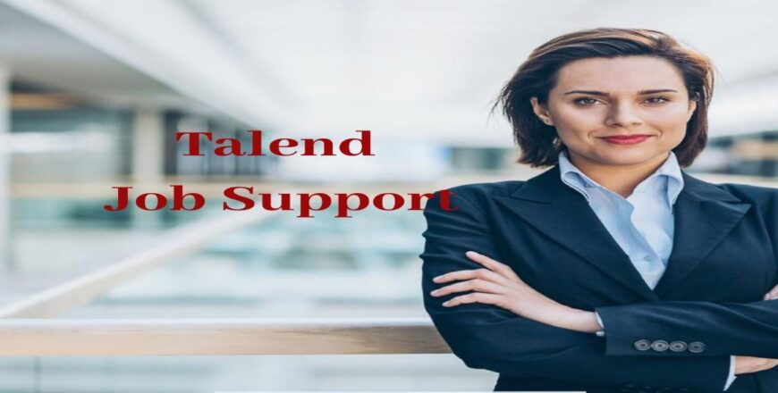 Talend Job Support