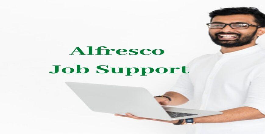 Alfresco Job Support
