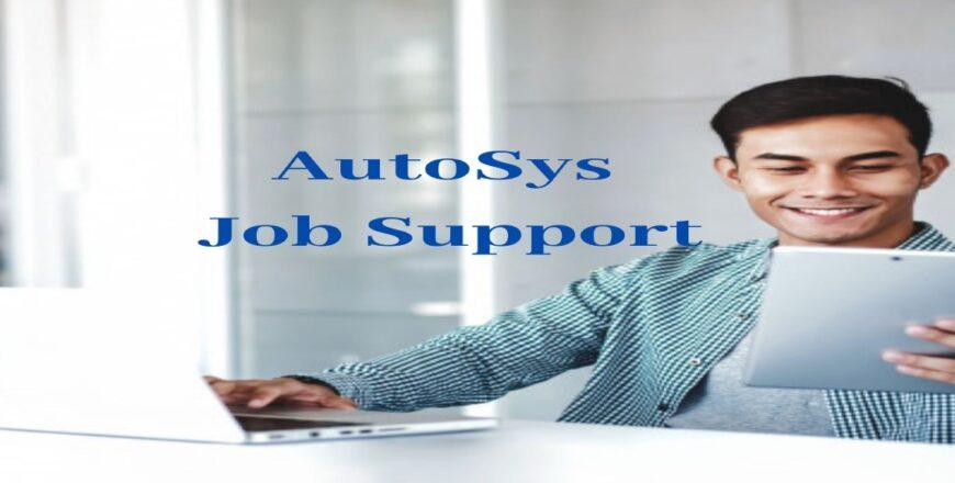 AutoSys Job Support
