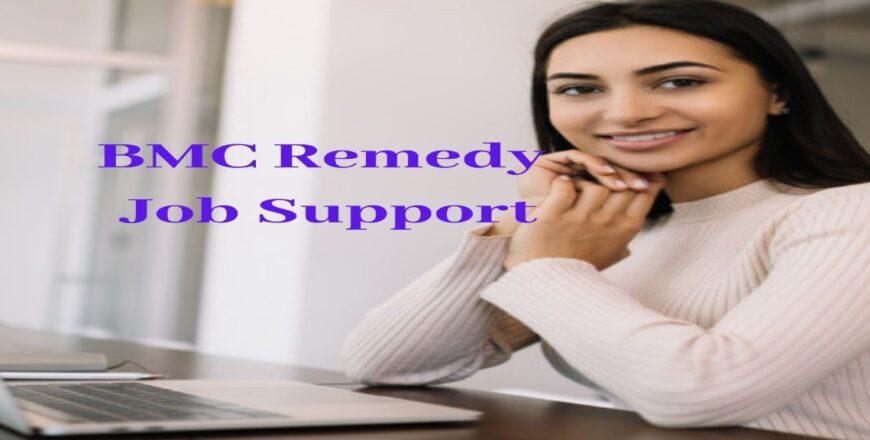 BMC Remedy Job Support
