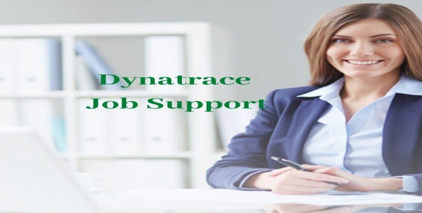 Dynatrace Job Support