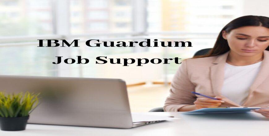 IBM Guardium Job Support