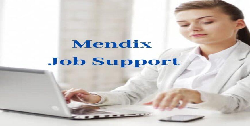 Mendix Job Support