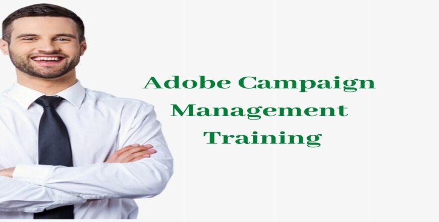 Adobe Campaign Management Training