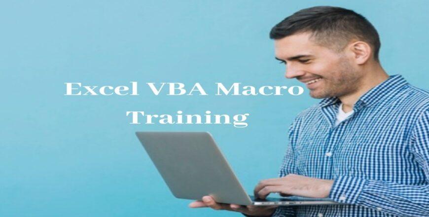 Excel VBA Macro Training
