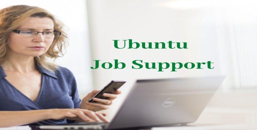Ubuntu Job Support